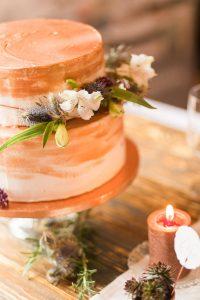 Hochzeitstorte im Weddingdesign