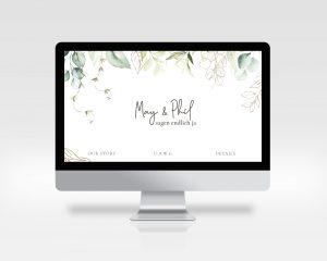 Traumhochzeit 2021 mit Hochzeitswebsite flexibel bleiben